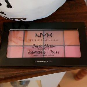 NYX sweet cheeks blush pallet new